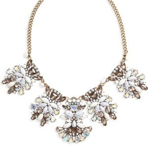 BaubleBar Daisy Bib Necklace